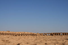 Ruins of resafa Royalty Free Stock Photography