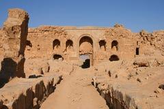 Ruins of resafa. Ruins of the ancient roman city of resafa (sergiopolis) in the syrian desert royalty free stock image