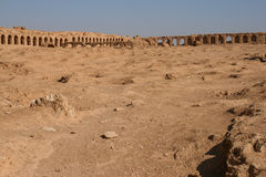 Ruins of resafa Royalty Free Stock Image