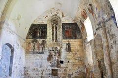 Ruins of Ribera church  (Basque Country) Stock Photo