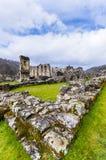 Rievauxl Abbey 3. The ruins of Rievauxl Abbey near Helmsley, United Kingdom Stock Photos