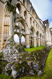 Rievauxl Abbey 4. The ruins of Rievauxl Abbey near Helmsley, United Kingdom Stock Images