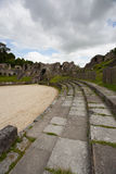 Ruins of roman amphitheater. In Saintes ,France Stock Photography