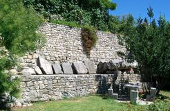 The ruins of Roman ancient city -Salona Royalty Free Stock Images