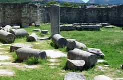 The ruins of Roman ancient city -Salona Stock Photo