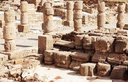 Ruins Roman of Stock Photo