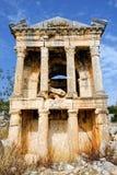 Ruins of Roman city Imbriogon Royalty Free Stock Photos