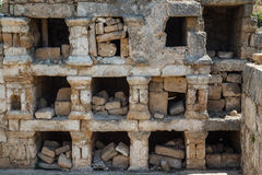 Ruins of the Roman city in Tyre Royalty Free Stock Image