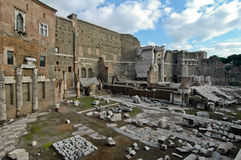 Ruins of the Roman Forum Royalty Free Stock Image