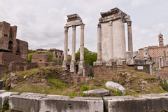 Ruins of Roman Forum. Royalty Free Stock Image