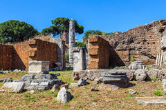 The ruins of the Roman Forum Stock Images