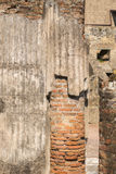 The Ruins of the Roman Forum. Beautiful frescos adorn the walls of the wealthy Stock Images