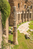 The Ruins of the Roman Forum Royalty Free Stock Images