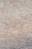 The Ruins of the Roman Forum. Old brick Roman wall by the Forum Stock Images