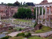 Ruins of Roman forum. Rome Royalty Free Stock Image
