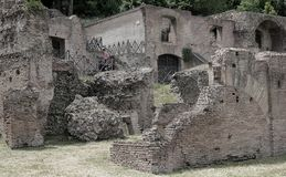 Ruins of Roman Forum in Rome royalty free stock photography