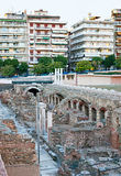 The ruins of Roman Forum Royalty Free Stock Photography
