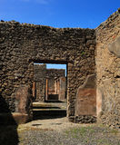 Ruins of roman house, Pompeii Stock Photo
