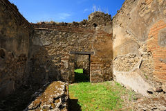 Ruins of roman house, Pompeii Stock Photography