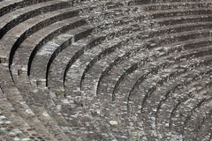Ruins of the roman theater in Lyon Stock Images