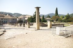 Ruins of Roman villas Royalty Free Stock Image