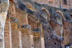 Ruins in Rome royalty free stock photos