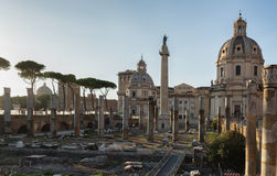 Ruins of Rome Royalty Free Stock Image