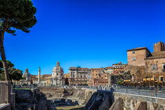 Ruins in Rome Stock Photos