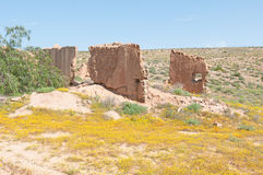 Ruins on the Roof of Namaqualand trail Stock Photo
