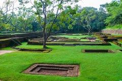 The ruins of the Royal Castle Sigiriya. Stock Photography