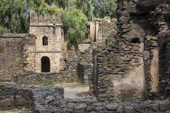 Ruins in Royal Enclosure. Gonder Stock Photos