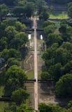 The ruins of the Royal Gardens at Sigiriya Rock in Sri Lanka. Royalty Free Stock Image
