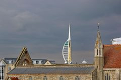 Royal Garrison Church, Portsmouth Stock Photography