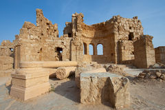 Ruins in Russafa, Syria Royalty Free Stock Photography