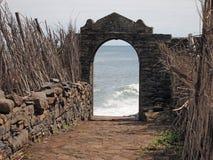 Ruins of São Jorge Royalty Free Stock Images