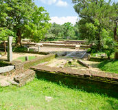 Ruins of the sacred city Anuradhapura, Sri Lanka Stock Photo