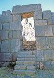 Ruins of Sacsayhuamán, Peru Stock Photography