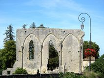 Ruins of Saint-Emilion, France Stock Photography