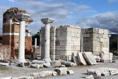Ruins in Selcuk Stock Photos