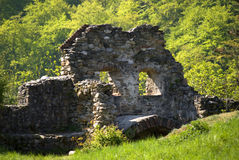 Ruins of Saint Michael Church Royalty Free Stock Photography