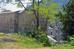 Ruins of Saint Nicholas monastery Royalty Free Stock Photos