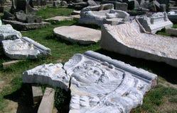 Ruins of Salona -Roman ancient city Stock Photos