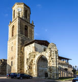 Ruins of San Benito Monastery in Sahagun de Campos Royalty Free Stock Photo