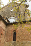Ruins of San Galgano church Stock Photography