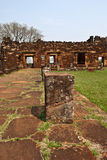 Ruins of San Ignacio Royalty Free Stock Images