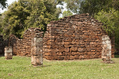 Ruins of San Ignacio Stock Image