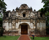 Ruins of San Jose El Viejo, Guatemala Royalty Free Stock Photos