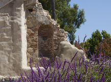 Ruins at San Juan Mission Royalty Free Stock Photo