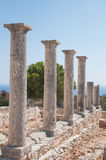 Ruins of the Sanctuary of Apollo Hylates Royalty Free Stock Photography