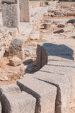Ruins of the Sanctuary of Apollo Hylates Royalty Free Stock Photo